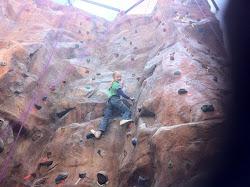 Me Rock Climbing!