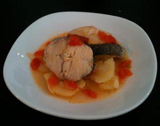 Cocina con ANíbal Merluza en blanco con patatas y limon