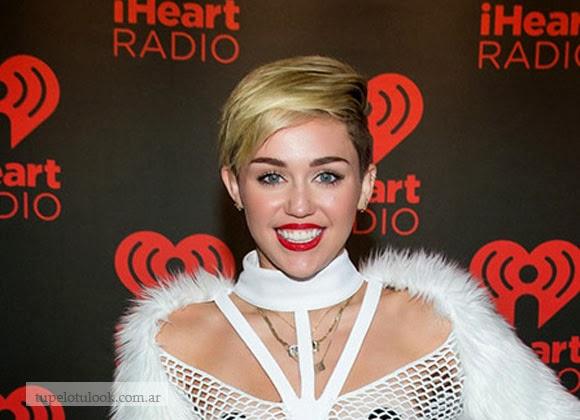 Miley cortes de pelo 2014