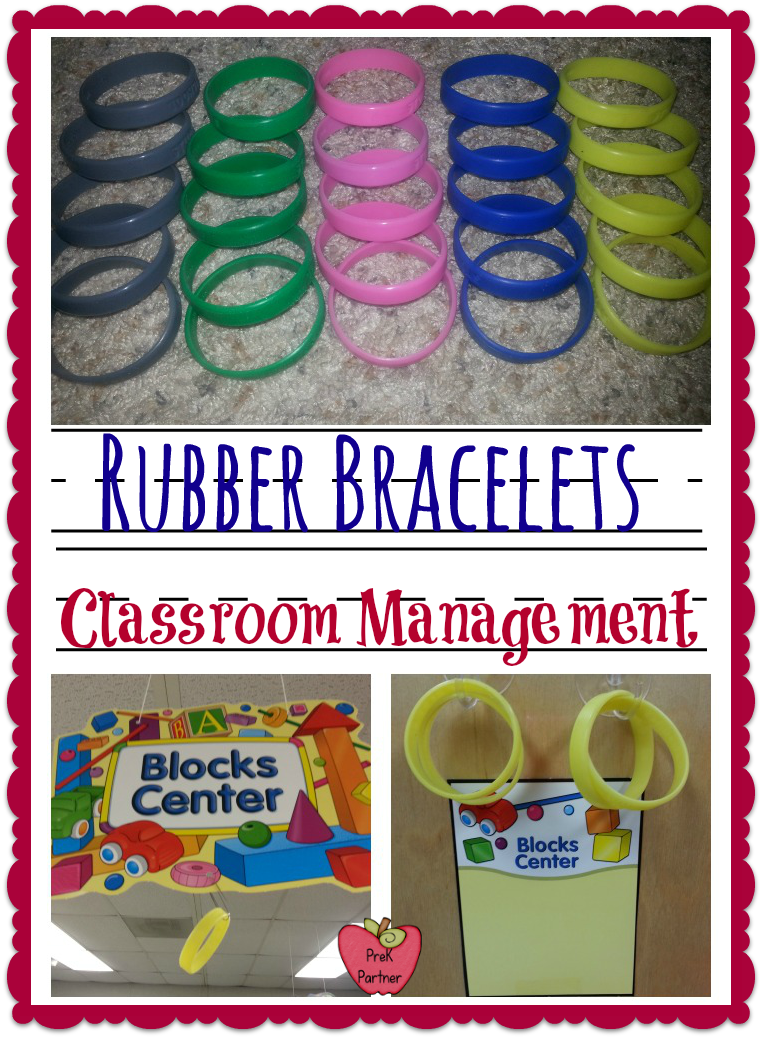 Classroom Management Ideas In Kindergarten ~ Rubber bracelets in the classroom prekpartner