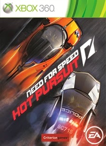 cover xbox360 du jeu need for speed hot pursuit