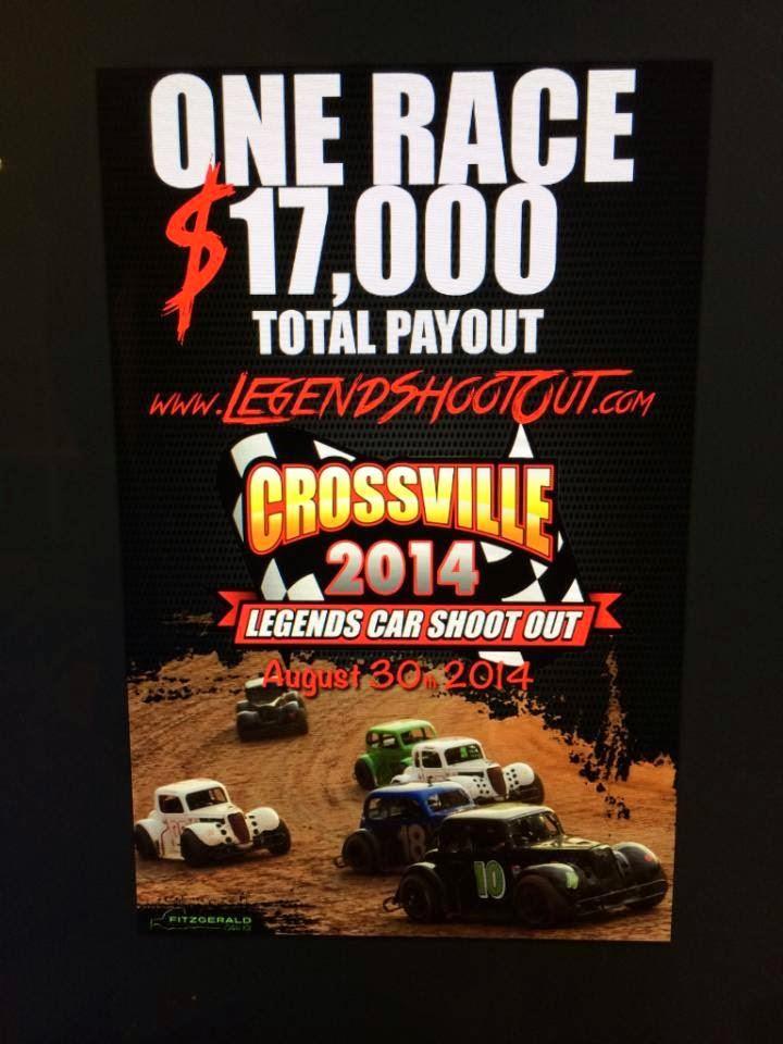 Legends Shootout at Crossville Racveway
