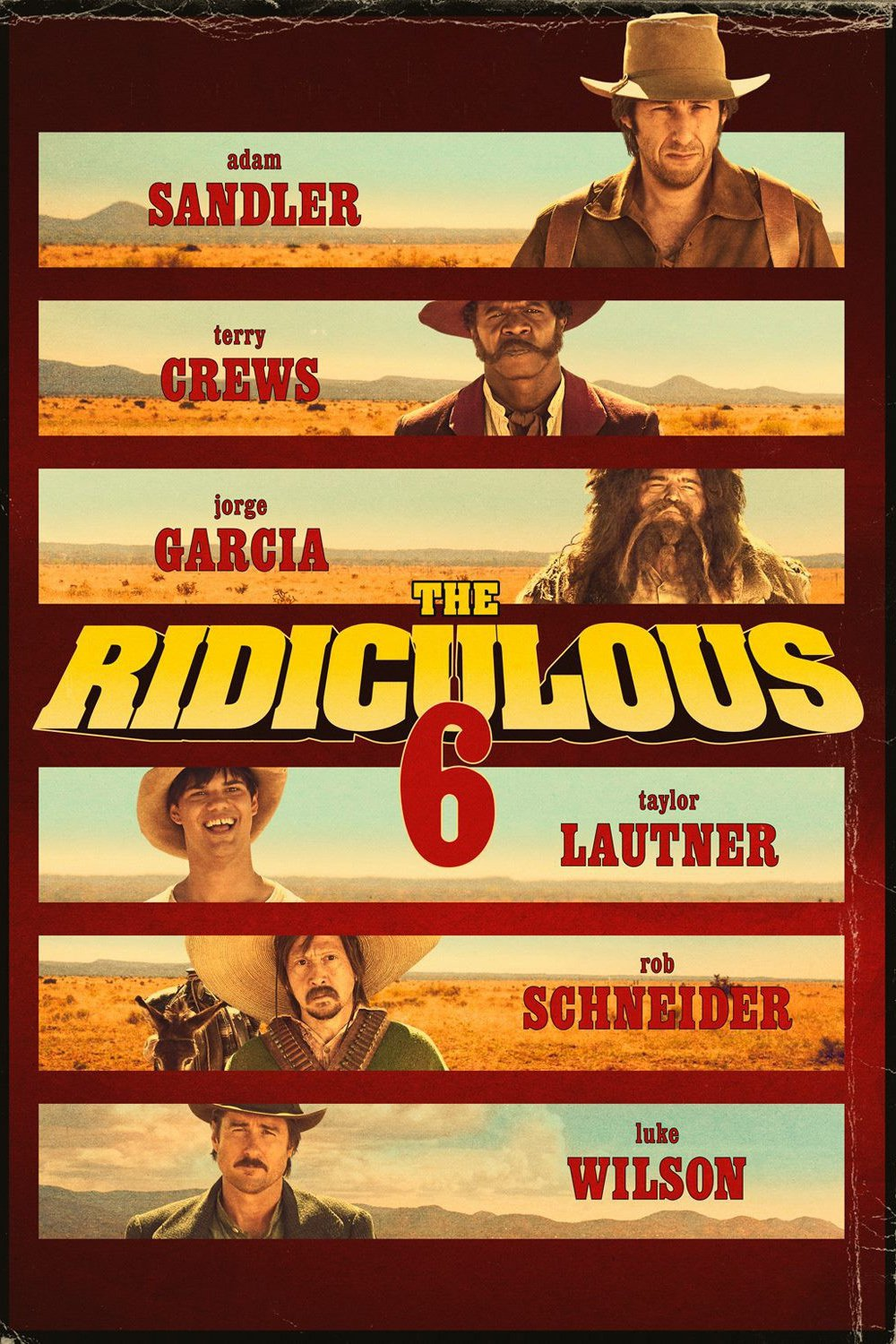The Ridiculous 6 – Legendado (2015)