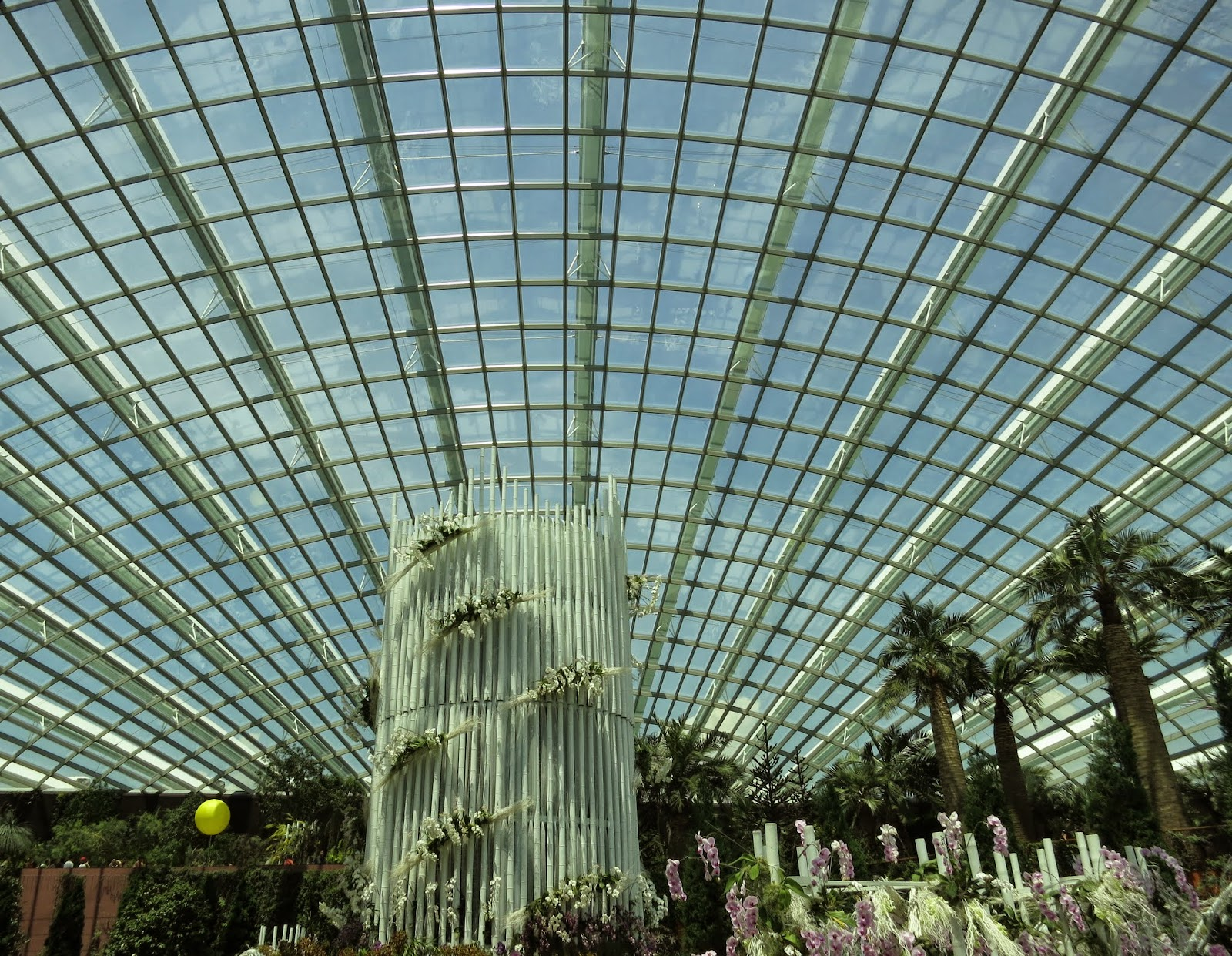 this was my first singapore garden festival which used to be at suntec and now moved to garden by the bay this year i also took the opportunity to visit
