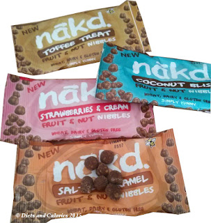 Nakd Salted Fruit & Nut Caramel Nibbles