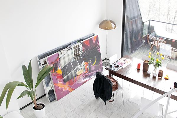 David Hilton apartment