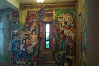 Mural: Library