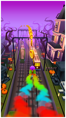 Subway Surfers Halloween 1.15 Apk Mod Full Version Unlimited Keys Coins Download-iANDROID Games