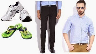 Flat 50% Off on Reebok Shoes, Flipflops, Sandals | Flat 55% Off on Black Coffee Clothing @ Flipkart (Limited Period Offer)