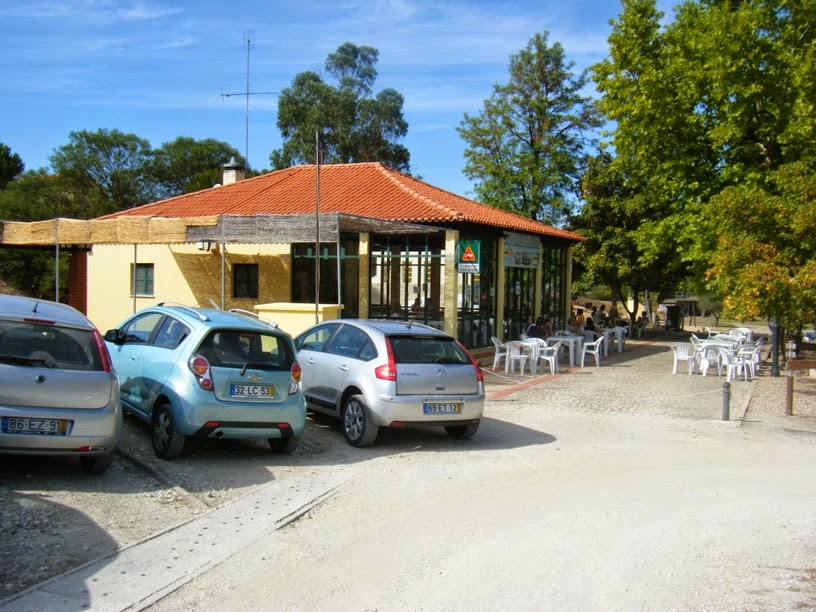 Zona de entrada do Bar/Restaurante Ribeira da Venda