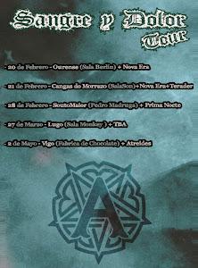 AQUELARRE SANGRE Y DOLOR TOUR 2015