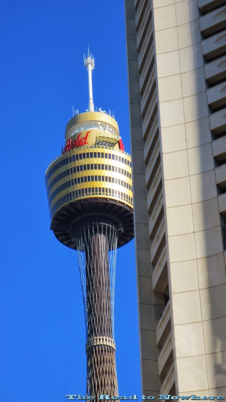 Road to Nowhere: Sydney Tower