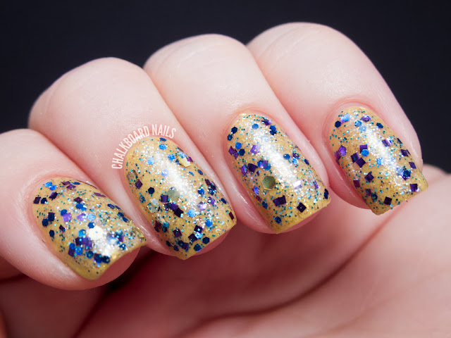 Chalkboard Nails: Urban Lacquer Out Like a Lamb