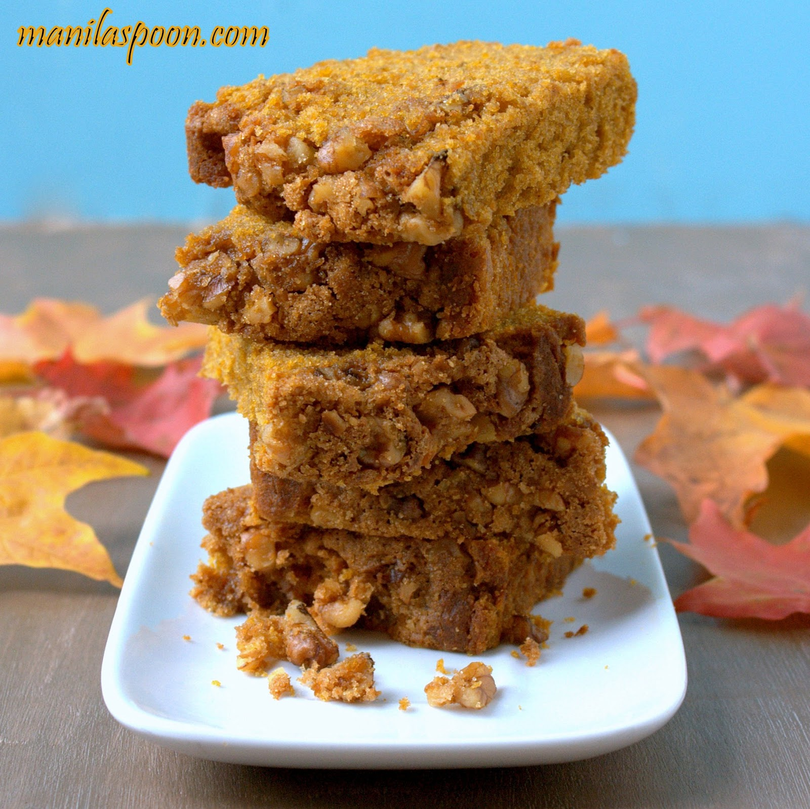 ... praline topping is totally amazing! Fall-perfect - Pumpkin Praline