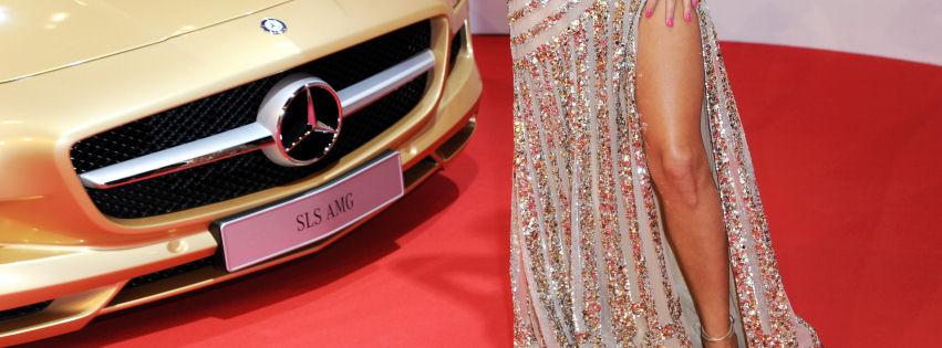 Mercedes ve manken kapak resimleri