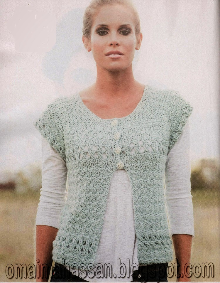 Crochet Kingdom Eh Mentha Cardigan