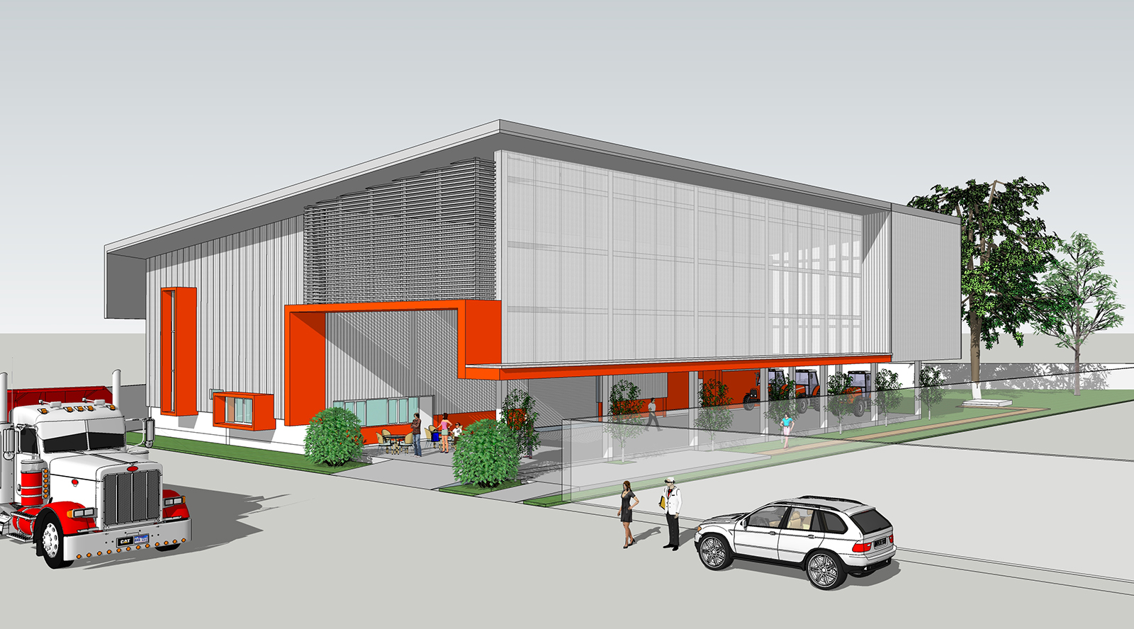 Sup architect my design for Warehouse building design