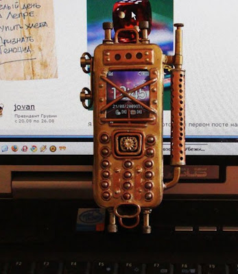 Steam-Punk Cell Phone Seen On www.coolpicturegallery.us