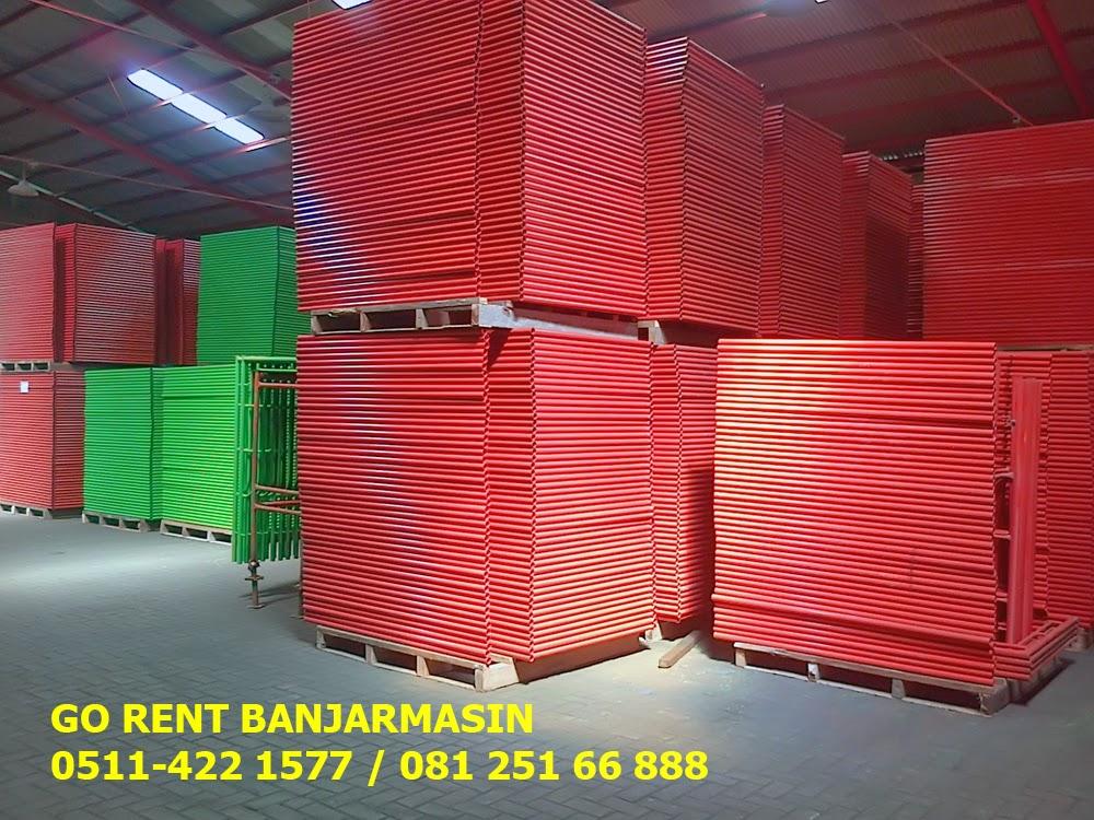 Sewa Scaffolding Banjarmasin - 081 251 66 888