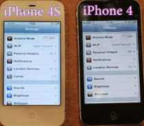 iPhone 4S vs. iPhone 4 test de velocidad video