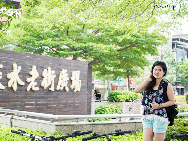 "[TAIPEI 台北] Day 2: Tamsui old street and The ""Lover's Bridge""  淡水老街,情人桥"