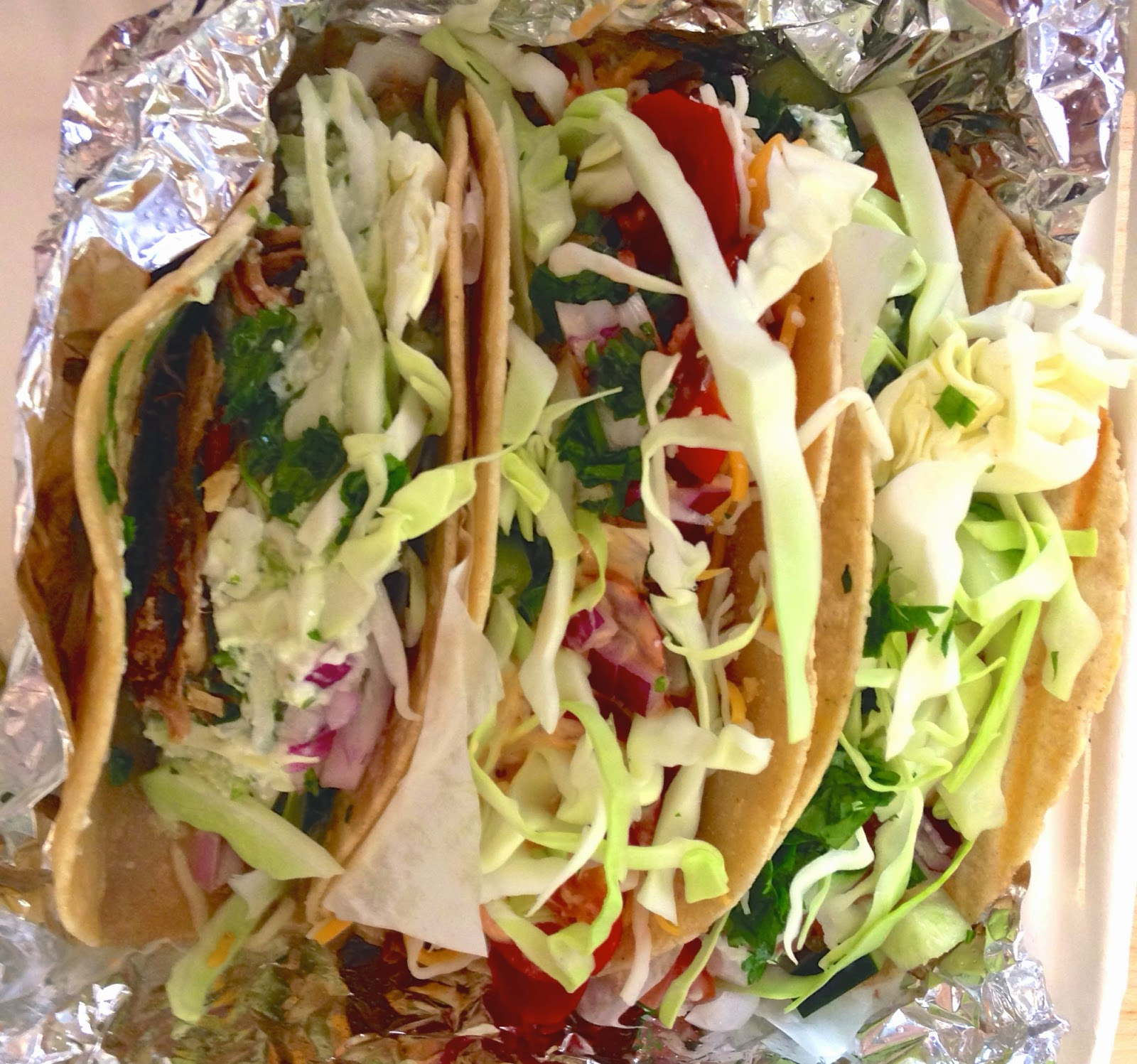 Picture of tacos at Project Taco Wilshire Los Angeles - Hello, Handbag