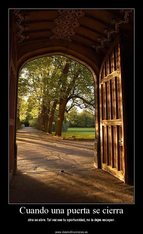 Cuando una puerta se cierra tema cristiano evangelio for Puertas que se cierran solas