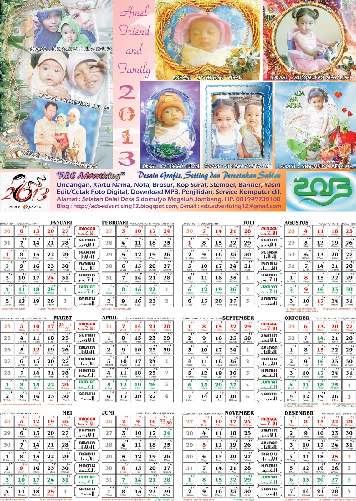Download Kalender 2013 Gratis