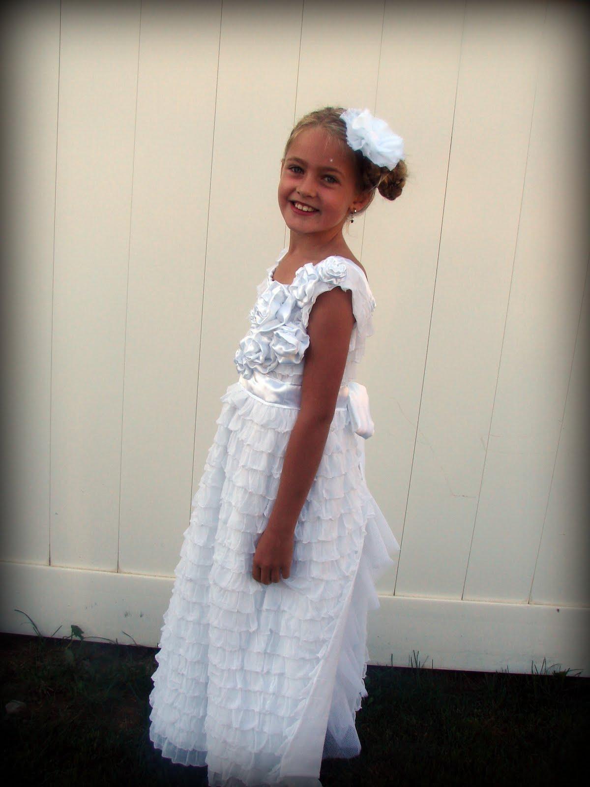 Baptism Dress A Girl And A Glue Gun