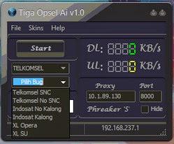 Free Inject Telkomse, XL, Dan Indosat Tiga Opsel Ai V1.0