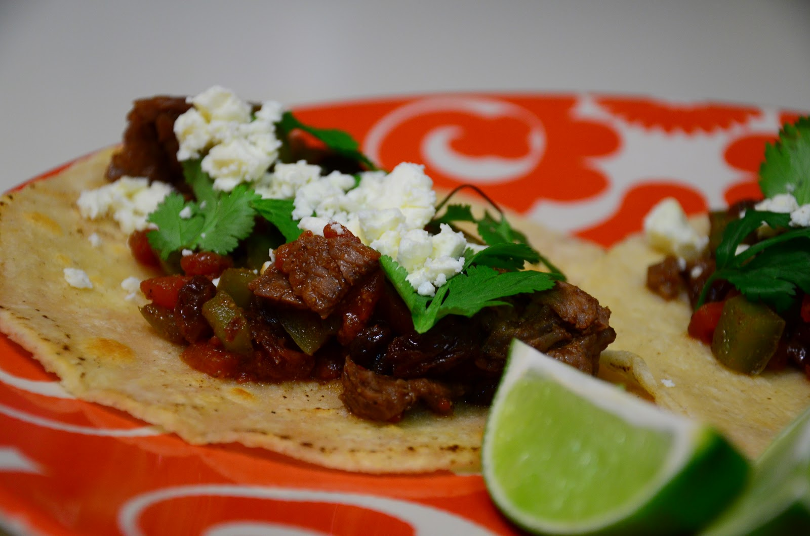 food for scot: Steak Picadillo Soft Tacos
