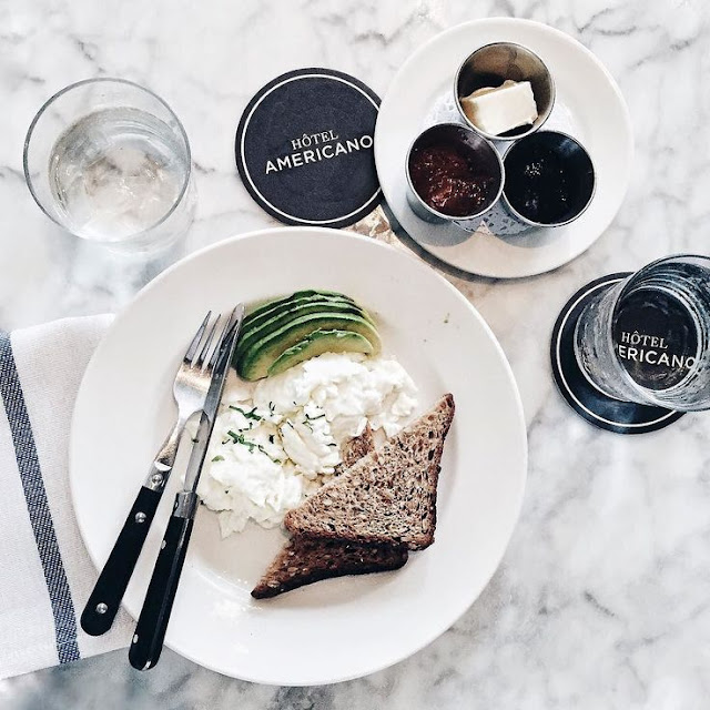 hotel americano breakfast - cool chic style fashion