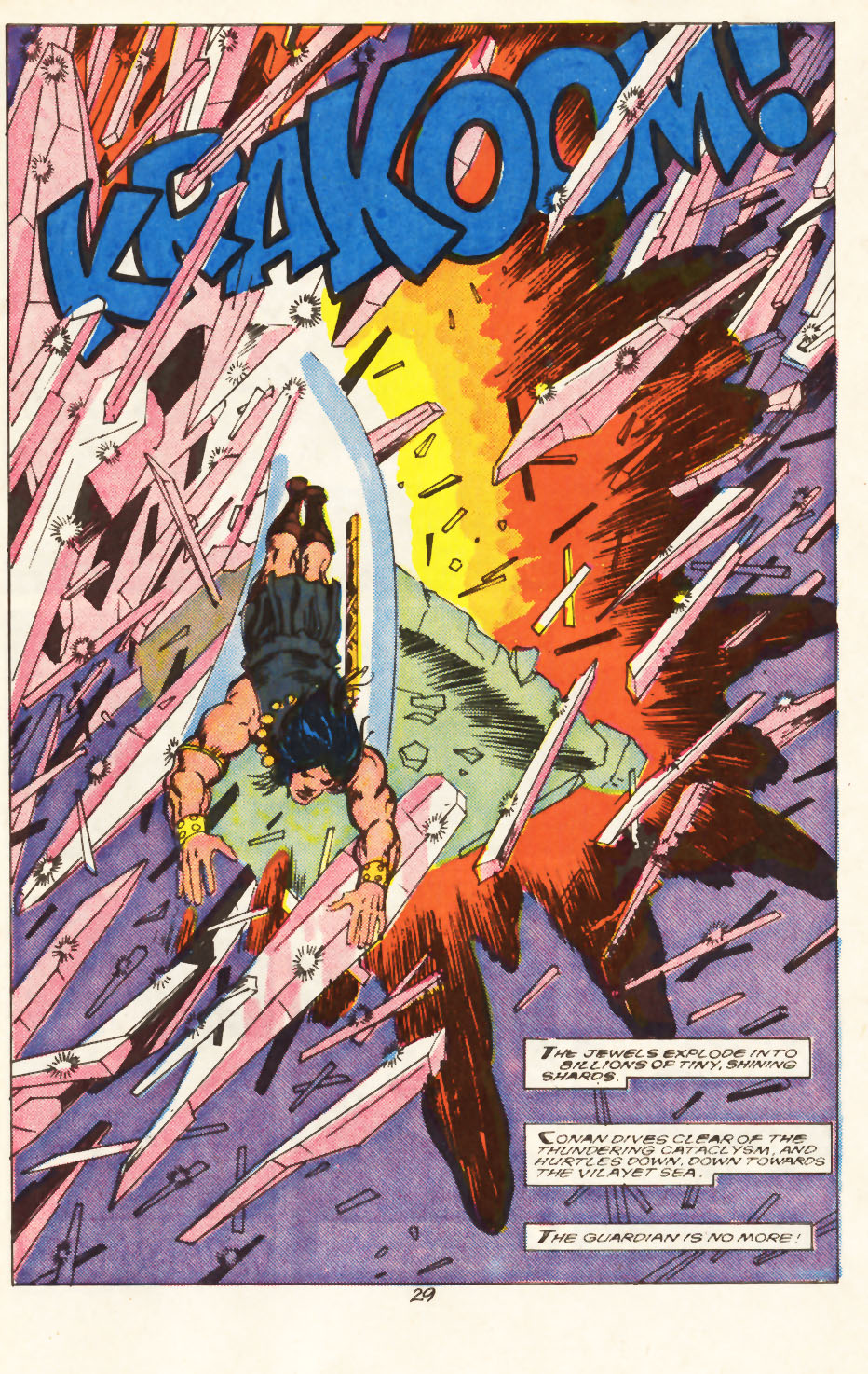 Conan the Barbarian (1970) Issue #217 #229 - English 22