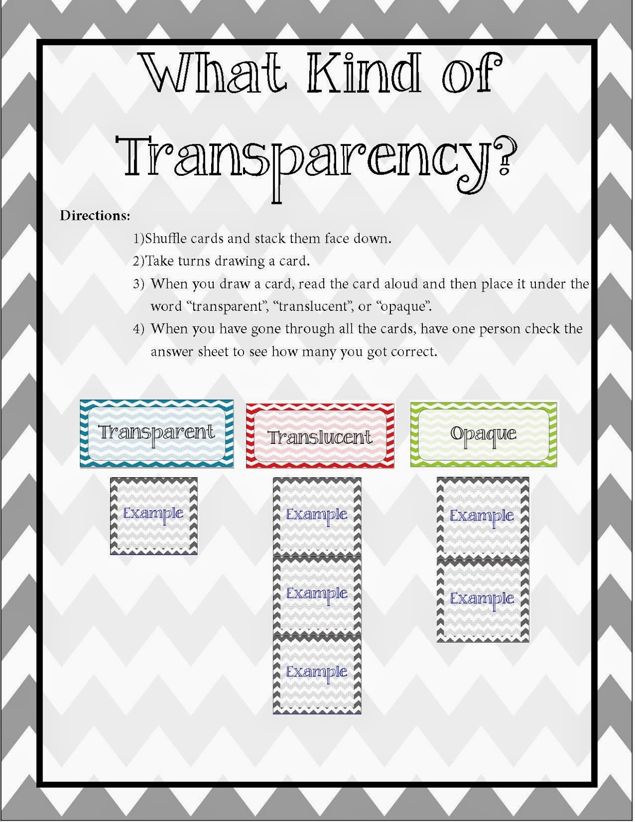 worksheet Transparent Translucent Opaque Worksheet sunrise and shine all about light transparenttranslucentopaque game 2 worksheets