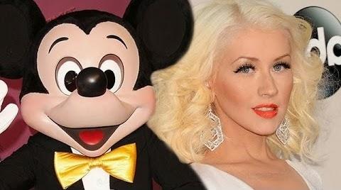 Christina Aguilera mengamuk di Disneyland
