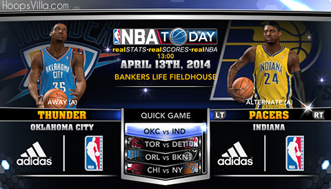 NBA 2k14 Official Roster Update : April 13th, 2014