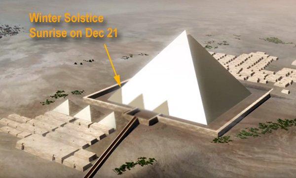 Giza – the Time Machine  KhufuCalendarDec211
