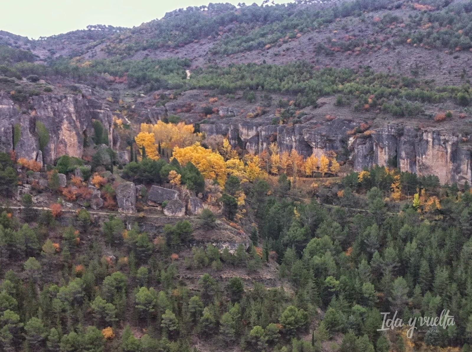 Montes rodeando Cuenca
