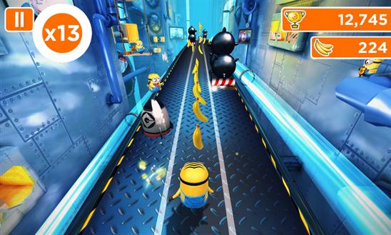 تحميل لعبة Minion Rush المميزة لويندوز فون ونوكيا لوميا مجاناً xap 1.0.4