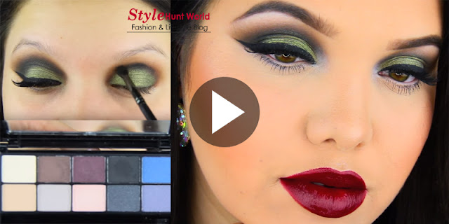 How To - Drugstore Holiday Makeup Tutorial