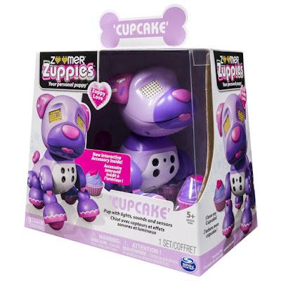 TOYS : JUGUETES - ZOOMER Zuppies Zuppy Love - Cupcake : Caramelo Perro Robot | Mascota Electrónica Interactiva Producto Oficial | Bizak - Spin Master | A partir de 5 años Comprar en Amazon España & buy Amazon USA