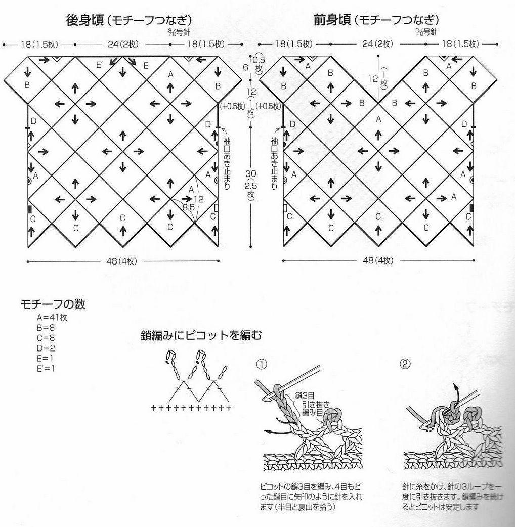 CARAMELO DE CROCHET: crochet japones