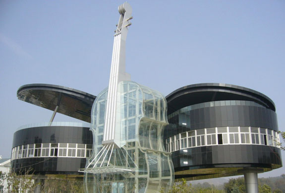 Bad architecture - Piano building - You are not an architect