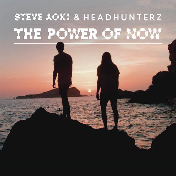 Steve Aoki & Headhunterz - The Power of Now (Crystal Lake Remix) - Single Cover
