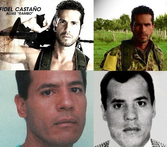 ... Rambo Los Tres Caines de RCN Personajes serie de los hermanos Castano