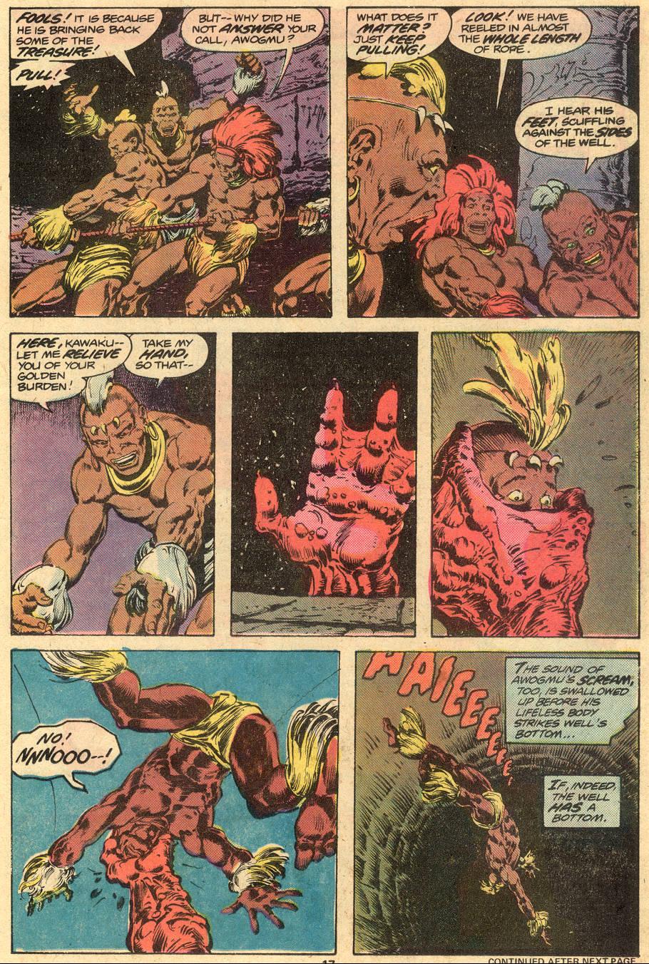 Conan the Barbarian (1970) Issue #73 #85 - English 12
