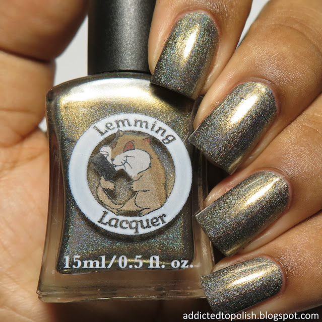 lemming lacquer im a difficult man to love