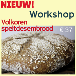 Workshop volkoren speltdesembrood