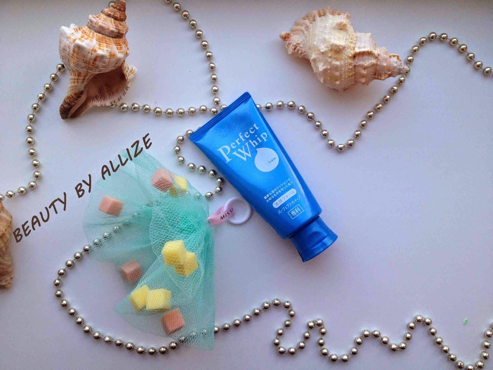 Пенка для умывания Shiseido Perfect Whip Foam. Aziatskaja kosmetika.