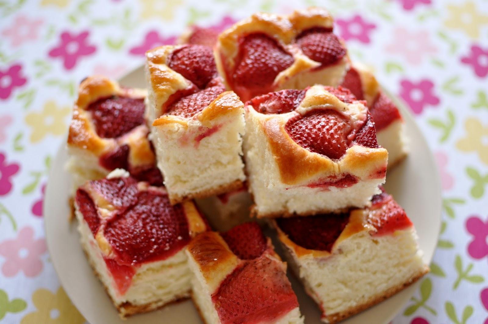 Drożdżowe z Truskawkami Przepis Drożdżowe Ciasto z Truskawkami